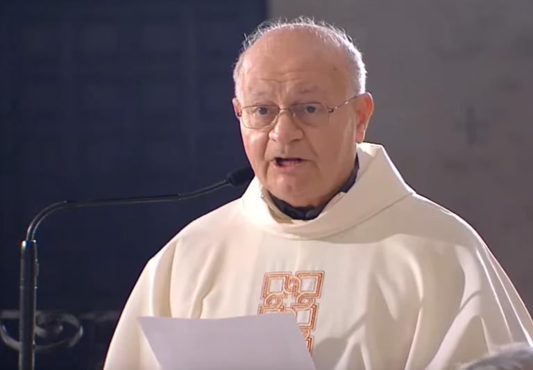 DISCORSO di saluto e ringraziamento del Vicario Generale Mons. Domenico Ciavarella